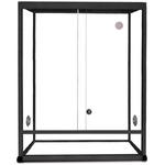 REPTILES PLANET Terrarium Aluminium Elégance 62,5 x 45 x 90 cm Noir