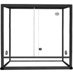 REPTILES PLANET Terrarium Aluminium Elégance 120 x 50 x 90 cm Noir