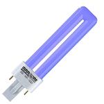 AQUAVIE Lumivie SM 9W ampoule fluocompacte Bleue 20000K culot G23