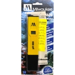 MILWAUKEE pH600 appareil électronique haute précision pour la mesure du pH en aquarium d'eau douce, eau de mer et bassin