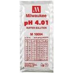 MILWAUKEE Solution d'étalonnage pH 4.01 20 ml pour électrodes pH et pH-mètre toutes marques