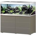 EHEIM Proxima 325 L powerLED+ Moka Marron Brillant aquarium 130 cm avec meuble et éclairage LEDs 74W