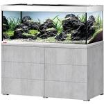 EHEIM Proxima 325 L powerLED+ Gris Urban aquarium 130 cm avec meuble et éclairage LEDs 74W