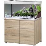 EHEIM Proxima 250 L powerLED+ Chêne aquarium 100 cm avec meuble et éclairage LEDs 56W