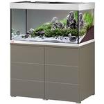 EHEIM Proxima 250 L powerLED+ Moka Marron Brillant aquarium 100 cm avec meuble et éclairage LEDs 56W