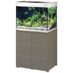 EHEIM Proxima 175 L powerLED+ Moka Marron Brillant aquarium 70 cm avec meuble et éclairage LEDs 37W