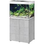 EHEIM Proxima 175 L Gris Urban aquarium 70 cm avec meuble et éclairage T5 2 x 24W