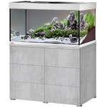 EHEIM Proxima 250 L classicLED Gris Urban aquarium 100 cm avec meuble et éclairage LEDs 2 x 17W