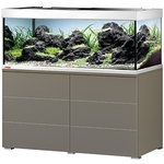 EHEIM Proxima 325 L Moka Marron Brillant aquarium 130 cm avec meuble et éclairage T5 2 x 54W
