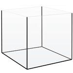 Cuve nue AkouaCube 40 x 40 x 40 cm 60 L en verre 5 mm avec joints noirs