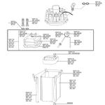 Pièces détachées pour filtres JBL Cristal Profi CP 120, CP 250, CP 500