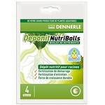 DENNERLE Deponit NutriBalls lot de 4 boules d'engrais universelles pour racines