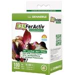 DENNERLE E15 FerActiv 100 comprimés source de Fer blanc concentré pour plantes d'aquariums. Traite jusqu'à 10000 L