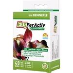 DENNERLE E15 FerActiv 40 comprimés source de Fer blanc concentré pour plantes d'aquariums. Traite jusqu'à 4000 L
