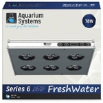 AQUARIUM SYSTEMS AH30XF Série 6 Eau Douce rampe LED 78W pour aquarium de 30 à 60 cm