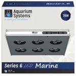 AQUARIUM SYSTEMS AH30XM Série 6 Eau de mer rampe LED 78W pour aquarium de 30 à 60 cm