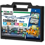 JBL ProAquaTest Combi Set Marin coffret d'analyses pH, NO2, NO3, KH, PO4 et NH4