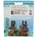 Lot de 2 ventouses JBL avec crochets 16 mm pour tuyau d'aquarium 12/16 mm