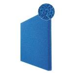 JBL Plaque de mousse bleue de filtration 50 x 50 x 10 cm à maille large
