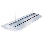 ARCADIA SLIMLINE S4 rampe HQI 150w, 250w ou 400w + tubes T5 pour l'éclairage des aquariums Marins. 12 modèles aux choix.