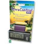 JBL TerraControl Solar thermomètre / hygromètre digital sans piles fonctionne avec l'énergie lumineuse dans les terrariums