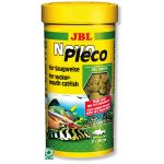 JBL NovoPlecoChips 100 ml chips d'algues à base de fibre de bois destinées aux Loricaridés