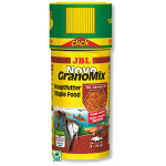 JBL NovoGranoMix Click 250 ml granulés pour petits poissons d'aquarium d'ornement avec doseur