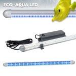 ARCADIA Eco-Aqua Led Marine Blue tube bleu à LED, effet d'éclairage 3D. 6 tailles aux choix avec ou sans chassis