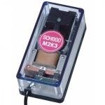 SCHEGO M2K3 electronic 12V pompe à air haute de qualité avec débit jusqu'à 260 L/h. Alimentation toutes sources 12v (voiture,...)