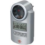 BRENNENSTUHL Primera-Line DT Programmateur digital hebdomadaire haut de gamme pour éclairage, électrovanne CO2, ...