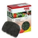 EHEIM Aktiv 2L charbon très actif pour l'élimination rapide des substances nocives dissoutes et les résidus médicamenteux