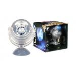 ARCADIA Spot LED Bleu 1W submersible et décoratif pour aquarium