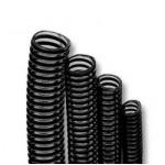 AKOUASHOP Tuyau Cannelé noir diam. 20, 25, 32, ou 40 mm. Vente au mètre.