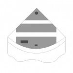 JUWEL Kit de volets de remplacement pour Aquarium Juwel Trigon 350. Livré en 3 pièces
