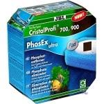 JBL PhosEx ultra élimination des phosphates pour filtres externes CristalProfi e700, e900, e401, e701, e901, e402, e702 et e902