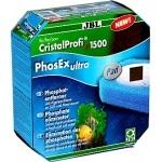 JBL PhosEx ultra élimination des phosphates pour filtres externes CristalProfi e1500, e1501, e1901, e1502, e1902
