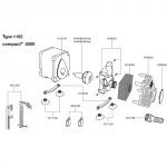 EHEIM Pièces détachées pour pompe Compact + 5000 (1102)