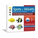 PRODIBIO Spots & Velvets Salt 6 ampoules soins des maladies «Velours» ou Points Blancs déclarées sur des poissons d'eau de mer