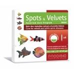 PRODIBIO Spots & Velvets Fresh 6 ampoules soins des maladies «Velours» ou Points Blancs déclarées sur des poissons d'eau douce