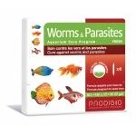 PRODIBIO Worms & Parasites Fresh 6 ampoules soins contre les vers et les parasites infestant des poissons d''eau douce