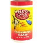 OMEGA ONE Freshwater Flake 148 gr. nourriture en flocons riches en Omega 6 pour tous poissons d'eau douce
