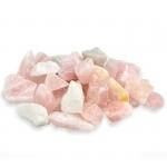 pierre quartz rose 450gr