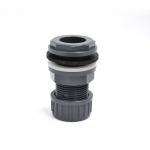Passe paroi PVC diamètre 25 mm pour trou diamètre 34 mm. Marque VDL haute qualité.