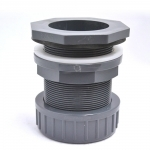 Passe paroi PVC diamètre 63 mm pour trou diamètre 76 mm. Marque VDL haute qualité.