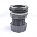 Passe paroi PVC diamètre 50 mm pour trou diamètre 60 mm. Marque VDL haute qualité.