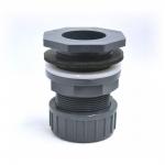 Passe paroi PVC diamètre 40 mm pour trou diamètre 54 mm. Marque VDL haute qualité.