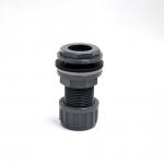 Passe paroi PVC diamètre 20 mm pour trou diamètre 27 mm. Marque VDL haute qualité.