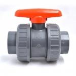 Vanne PVC à bille marque VDL pour tuyau diamètre  50 mm pour bassin, piscine,...
