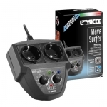 SICCE Wave Surfer contrôleur électronique 2 canaux pour le pilotage des pompes Voyager et autres marques