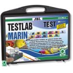 JBL TestLab Marin coffret de test professionnel pour les analyses d'eau de mer Nouveau : Test O2 inclus